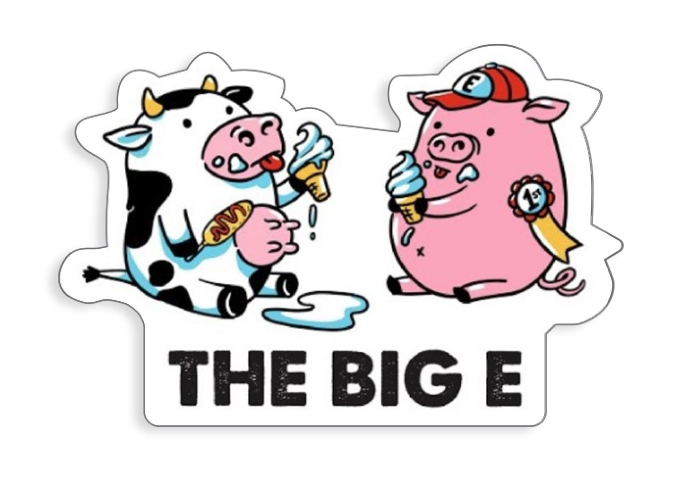 Cow & Pig 2020 Decals (Set of 2)